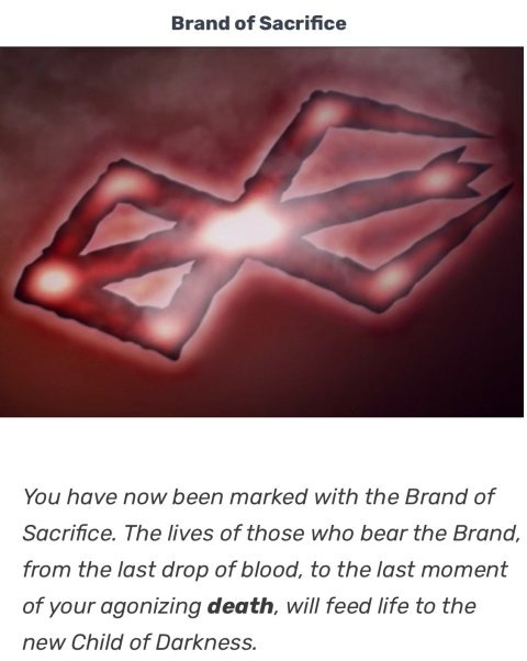 brand of sacrifice